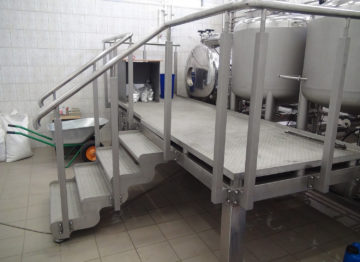 Industrial brewery (8000 liters per day)