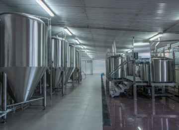 Industrial Brewery 15000 daily productivity (l/day)